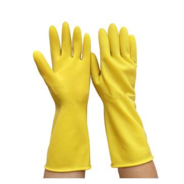 洁安康橡胶防护手套,30cm,M(售完即止)