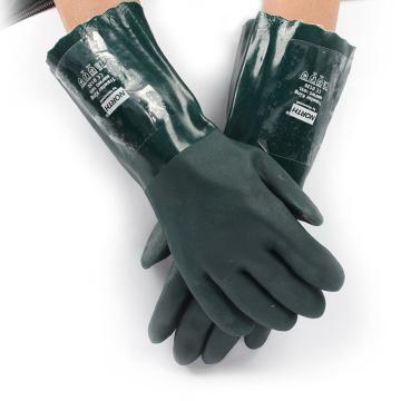 霍尼韦尔Honeywell PVC防化手套,850FWG/10XL,绿色,12副/打