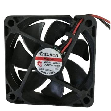 建准 散热风扇 ME60151V1-000C-A99,DC12V,配装接插件