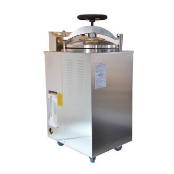 BOXUN压力蒸汽灭菌器,立式,容积:100L,内腔尺寸:Ф400x725mm,YXQ-LS-100G