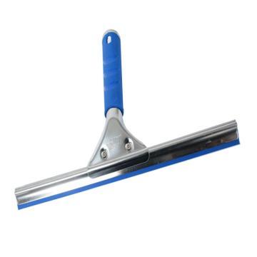 304不锈钢玻璃刮,40cm 蓝色
