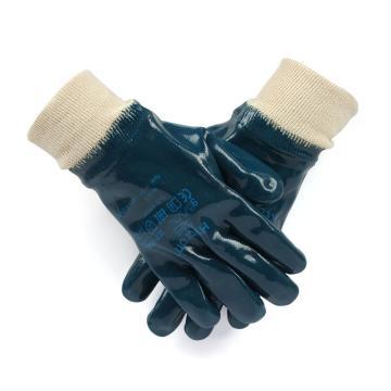 Ansell 27-602-9 涂层手套,全部涂腈胶针织涂层手套