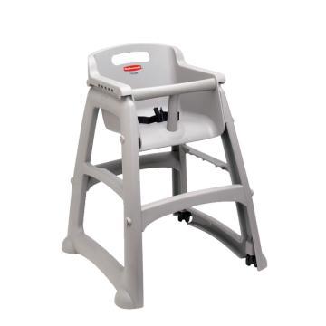 樂柏美Rubbermaid兒童座椅連腳輪,7805白金色