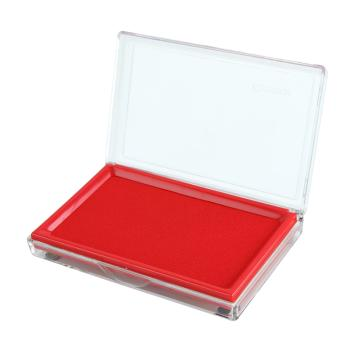 齊心 快干印臺,B3720 大長方形 紅 單個