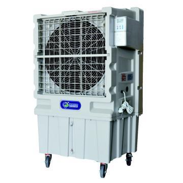 瑞康机电移动式冷风机,RK-12,220V,450W,风量12000m3/h,加水量70L,耗水量8-10L