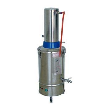 蒸馏水器,电热,不锈钢,YN-ZD-Z-5,出水量:5升/小时,缺水自动断电功能