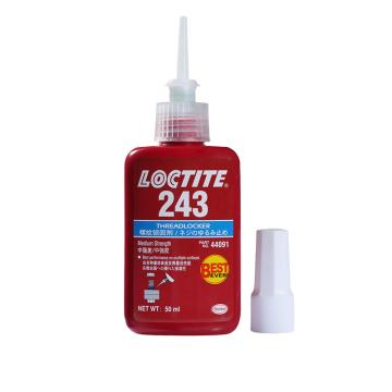乐泰 螺纹 锁固剂,Loctite 243 中粘度 中强度型,50ml
