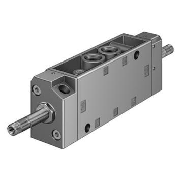 费斯托FESTO 电磁阀,2位5通双电控,不含线圈,JMFH-5-1/4,10410