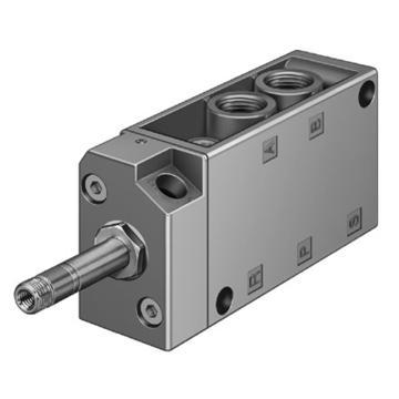 费斯托FESTO 电磁阀,2位5通单电控,不含线圈,MFH-5-1/4,6211