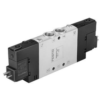 费斯托FESTO 两位五通双电控电磁阀,不含线圈,CPE18-M1H-5J-1/4163143