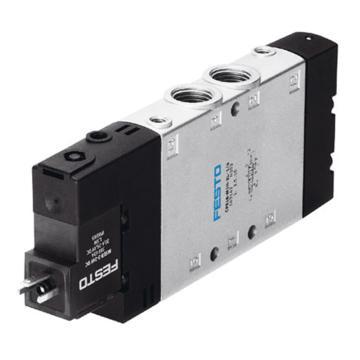 费斯托FESTO 两位五通单电控电磁阀,不含线圈,CPE18-M1H-5L-1/4163142