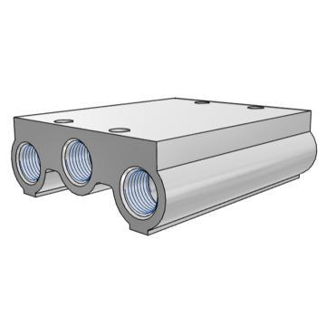 SMC 集裝板,VF閥配套,VV5F5-20-031