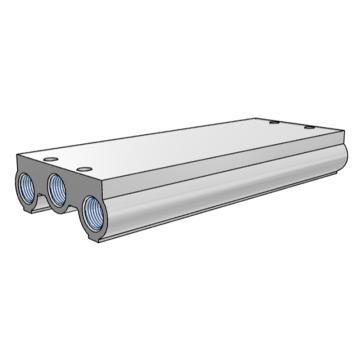 SMC 集裝板,VF閥配套,VV5F5-20-041