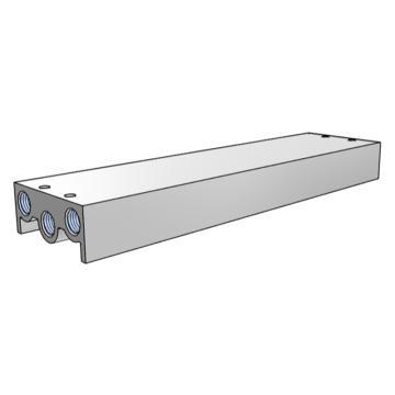 SMC 集裝板,VF閥配套,VV5F3-30-101