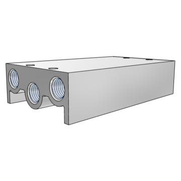 SMC 集裝板,VF閥配套,VV5F3-30-031