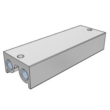 SMC 集裝板,VF閥配套,VV5F1-30-041