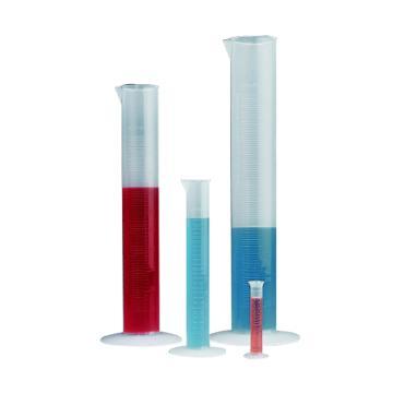 经济型刻度量筒,1000ml,PP,1个/包
