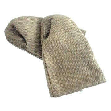 JUTEC 隔热手套,H2111503,900 ℃隔热手套 玻璃纤维布 30cm