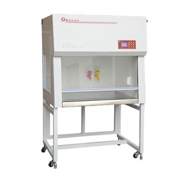 博迅 洁净工作台,垂直净化,单人单面,外壳:冷轧钢板,操作台:SUS304拉丝不锈钢,BJ-1CD
