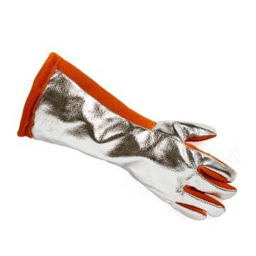 代尔塔DELTAPLUS 隔热手套,205400, TERK400N隔热镀铝手套