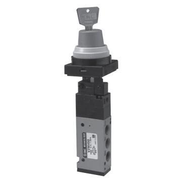SMC 机械阀,锁式(2位),VZM450-01-36