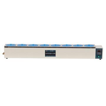 博迅电热恒温水浴锅,HH.S11-8,控温范围:RT+5~100℃,内部尺寸:1220x170x120mm
