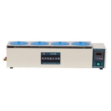 博迅电热恒温水浴锅,HH.S11-4,控温范围:RT+5~100℃,内部尺寸:620x170x120mm