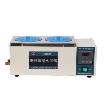 博迅电热恒温水浴锅,HH.S11-2,控温范围:RT+5~100℃,内部尺寸:310x180x120mm