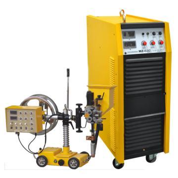沪工逆变式直流埋弧焊机,MZ-630WI,风冷配小车