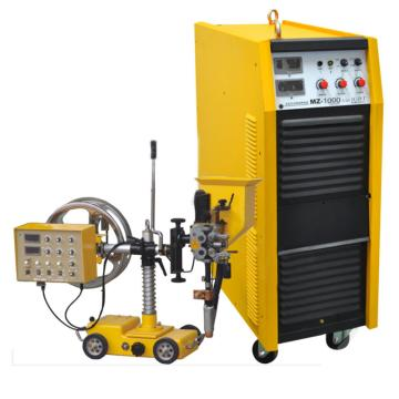 沪工逆变式直流埋弧焊机,MZ-1000WI,风冷配小车