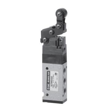 SMC 机械阀,单方向滚轮杠杆式,VZM550-01-02S