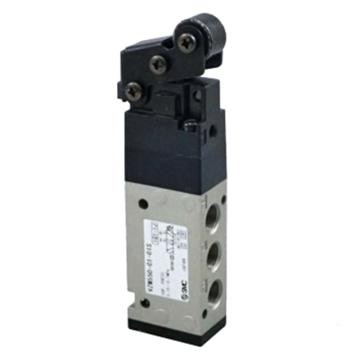 SMC 机械阀,滚轮杠杆式,VZM550-01-01S