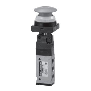 SMC 机械阀,按钮(磨菇头),VZM550-01-30R