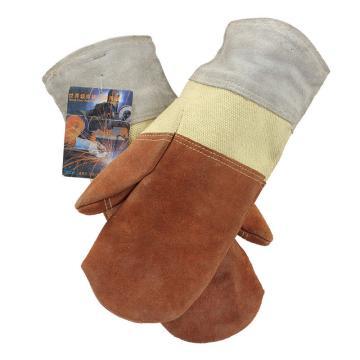 威特仕 隔热手套,10-4700-XL,极高温抗热手套 330-500度