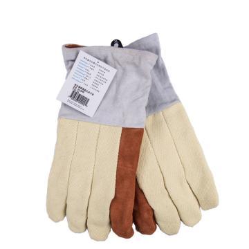 威特仕 隔热手套,10-4900L,耐高温五指手套