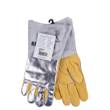 威特仕 隔热手套,10-2755XL,高档耐高温热流反射铝手套
