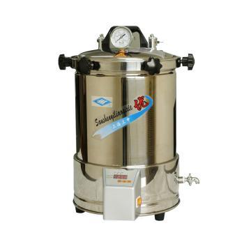 蒸汽灭菌器,不锈钢,YX-280A定时数控,18L