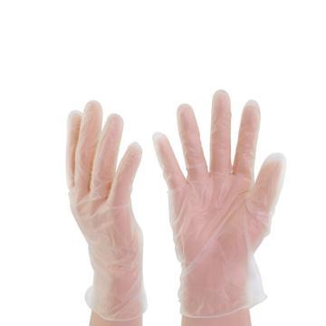 代爾塔DELTAPLUS 有粉一次性手套,201371-8 ,V1371 一次性PVC手套,50副/盒