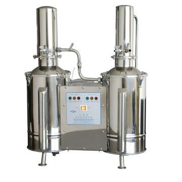 不锈钢电热蒸馏水器(重蒸),5升/时,DZ5C,三申