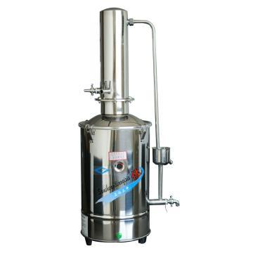 不锈钢电热蒸馏水器(自控),10升/时,DZ10Z,三申