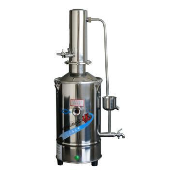 不锈钢电热蒸馏水器(自控),5升/时,DZ5Z,三申