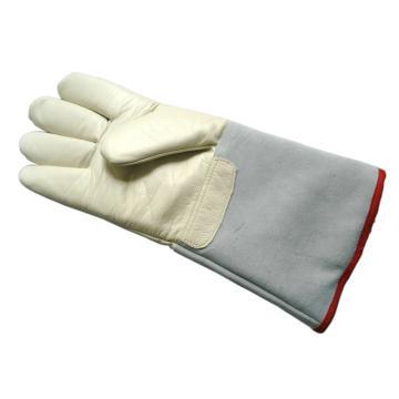 富力 低温防护手套,D235N,耐低温手套 -200℃,35cm