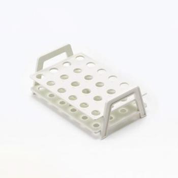 微量离心管架,试管容量1.5ml,阵列4x6,颜色白色