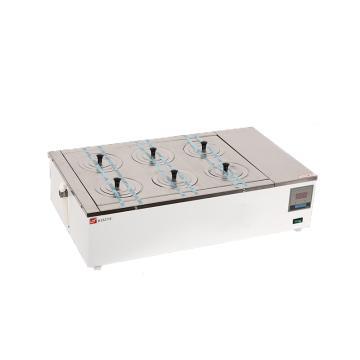 电热恒温水浴锅,数显式控温仪,DK-98-II,双列六孔