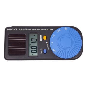 日置/HIOKI 3245-60便携式数字万用表,太阳能和电池并用