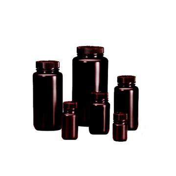 棕色广口瓶,125ml,HDPE