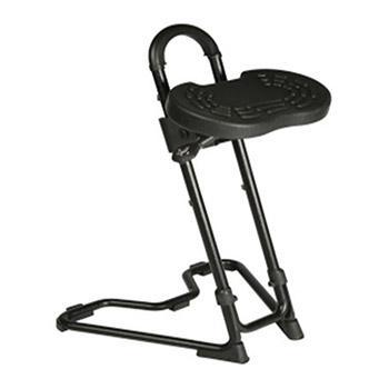 迈确尔工位椅, PU坐垫可旋转 倾斜度可调 高度可调680-910mm AF6-PU6(散件不含安装)