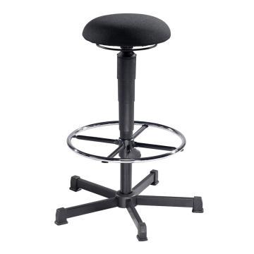 MEY工作凳, 黑色布料 高度调幅:560-820/565-810 mm(散件不含安装)