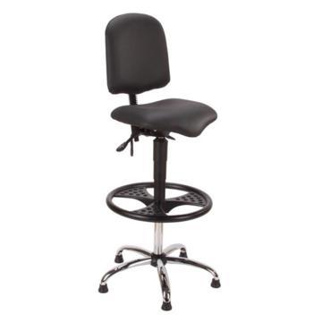 工作椅,MEY工作椅,黑色 高度调幅675-940mm 带脚踏 不可旋转(散件不含安装)