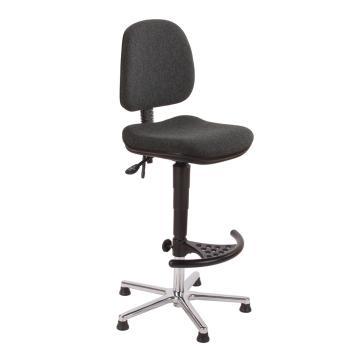 工作椅,MEY工作椅,黑色仿皮高度调幅655-905 mm(散件不含安装)